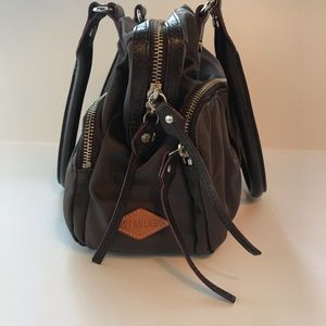 MZ Wallace Baby Jane bag in chocolate brown
